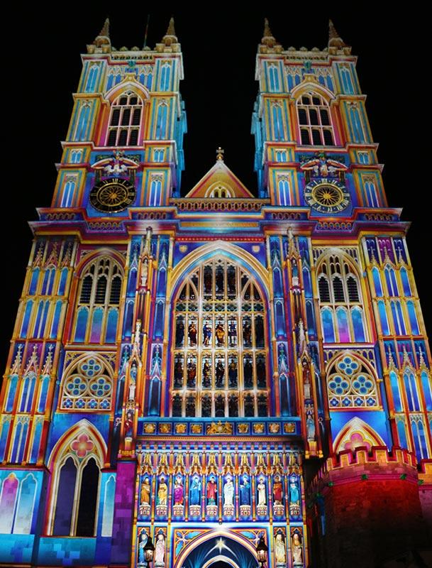 Light of the Spirit (Chapter 2) Patrice Warrener Westminster Abbey Light Art