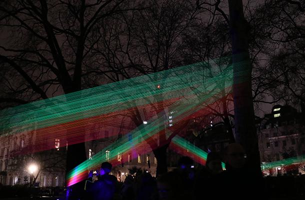 Spectral Katarzyna Malejka and Joachim Slugocki Light Art