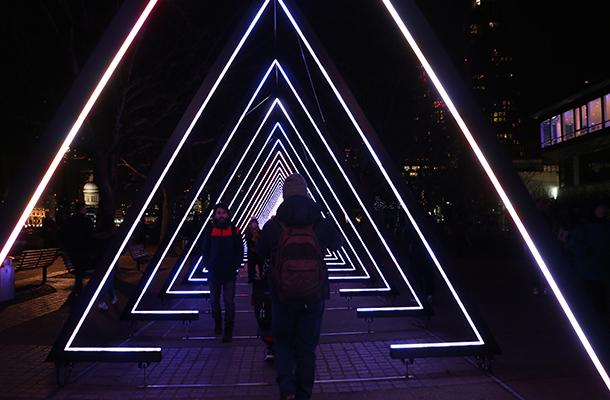 The Wave Vertigo Light Art
