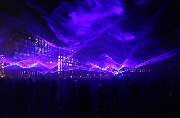 Waterlicht Studio Roosegaarde London Lumiere Light Art