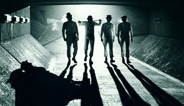 A Clockwork Orange Movie Light Shadows