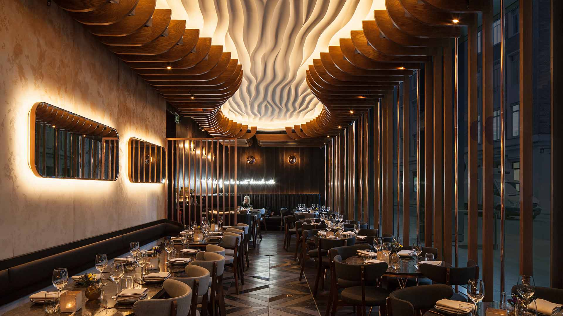 Haz Restaurant, London | Nulty | Lighting Design Consultants