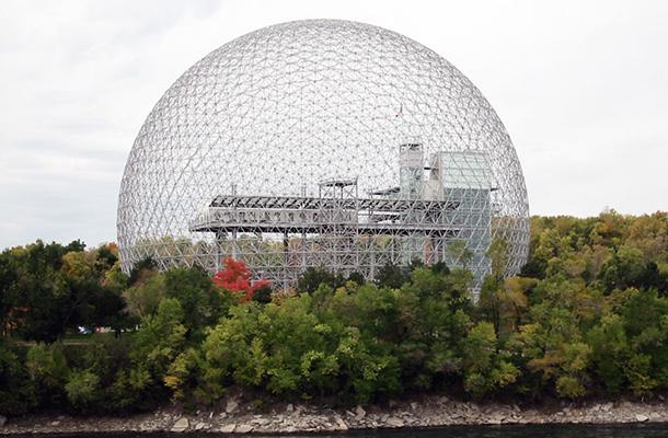 Montreal Biosphere Buckminster Fuller Dome