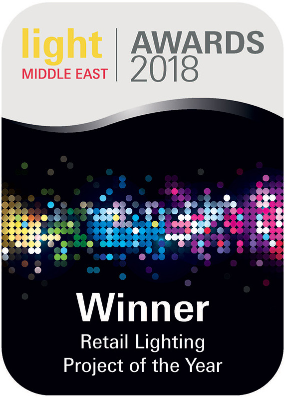 Light Middle East Awards 2018 Winner Retail Lighting Project of the Year Casamia Dubai Nulty