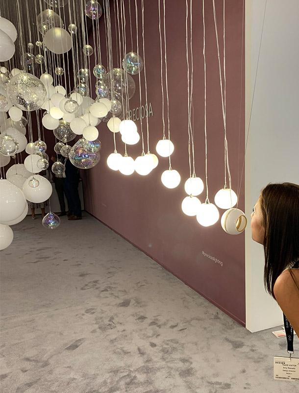 Dubai Design Week 2018 Breath of Light Interactive Lighting Installation