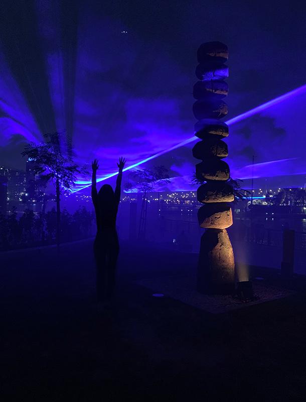 Dubai Design Week 2018 WATERLICHT Daan Roosegaarde