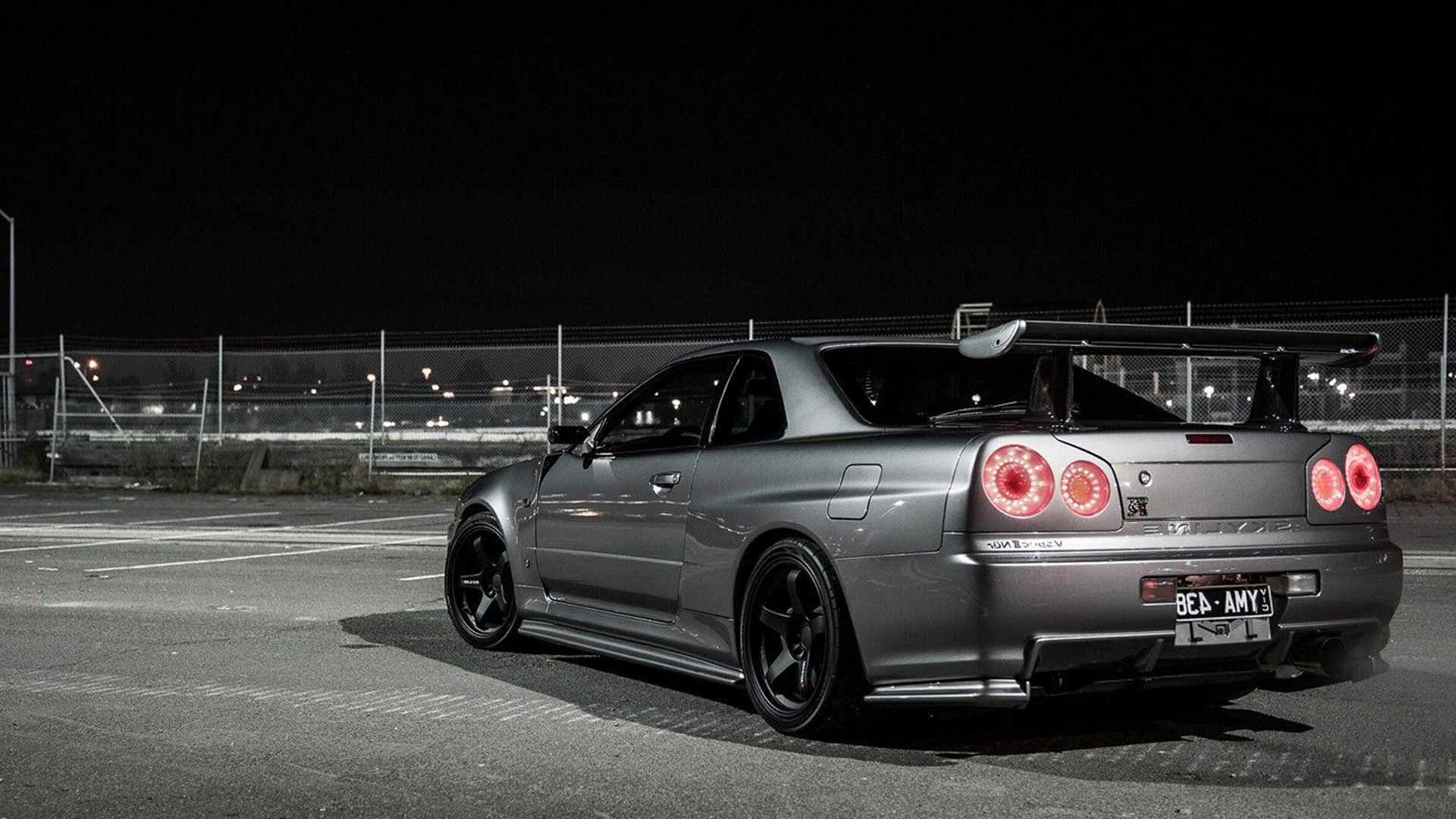 Nissan Godzilla R34 GT-R Halo Automotive Lighting