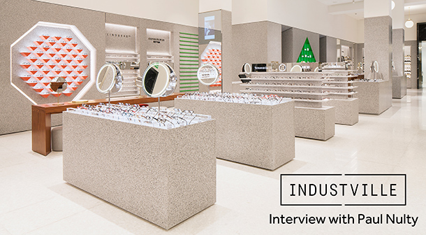 Retail Lighting Design Industville Interview Paul Nulty