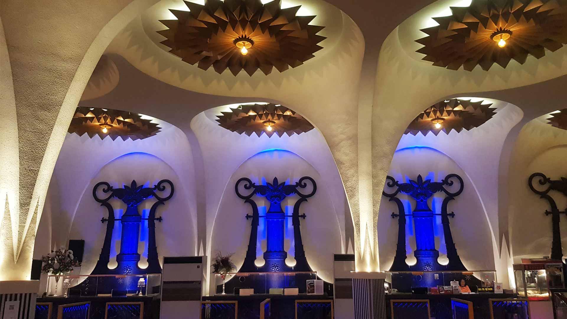 Scala Cinema Bangkok Design Week Feature Star Ceiling Detail Lighting Installation
