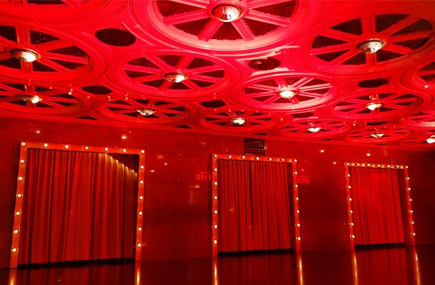 Scala Movie Theatre Red Light Installation Bangkok Design Week 2019