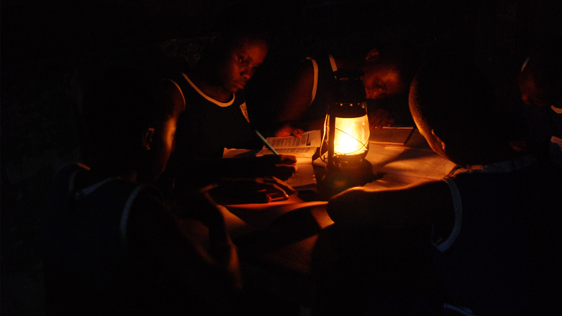 Children Kerosene Lamp Education