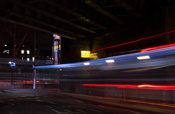 Street Scene Waterloo London Long Exposure Photography