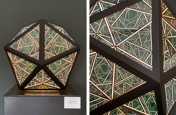 Anthony James Installation Portal Icosahedron Dubai Design Week 2019