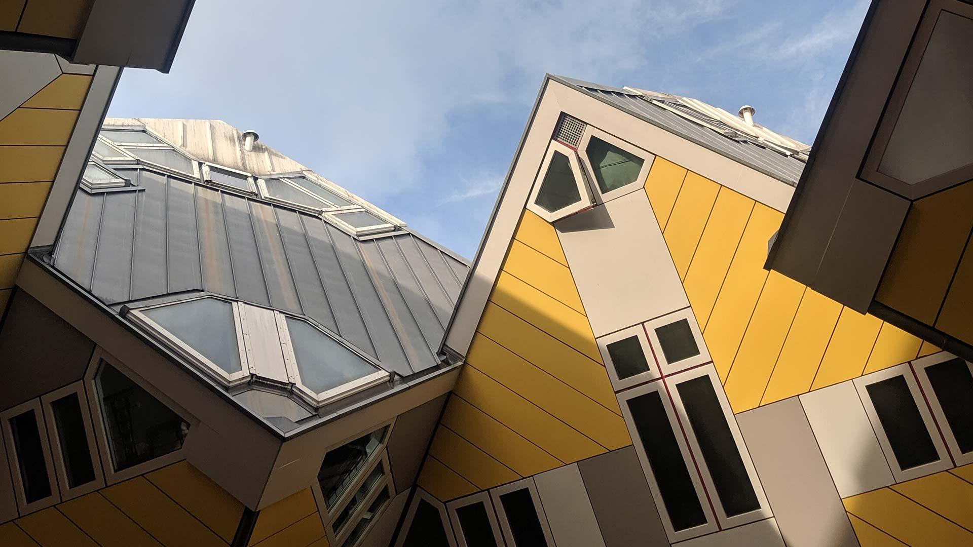 Kubuswoningen Cube Houses Rotterdam Architecture