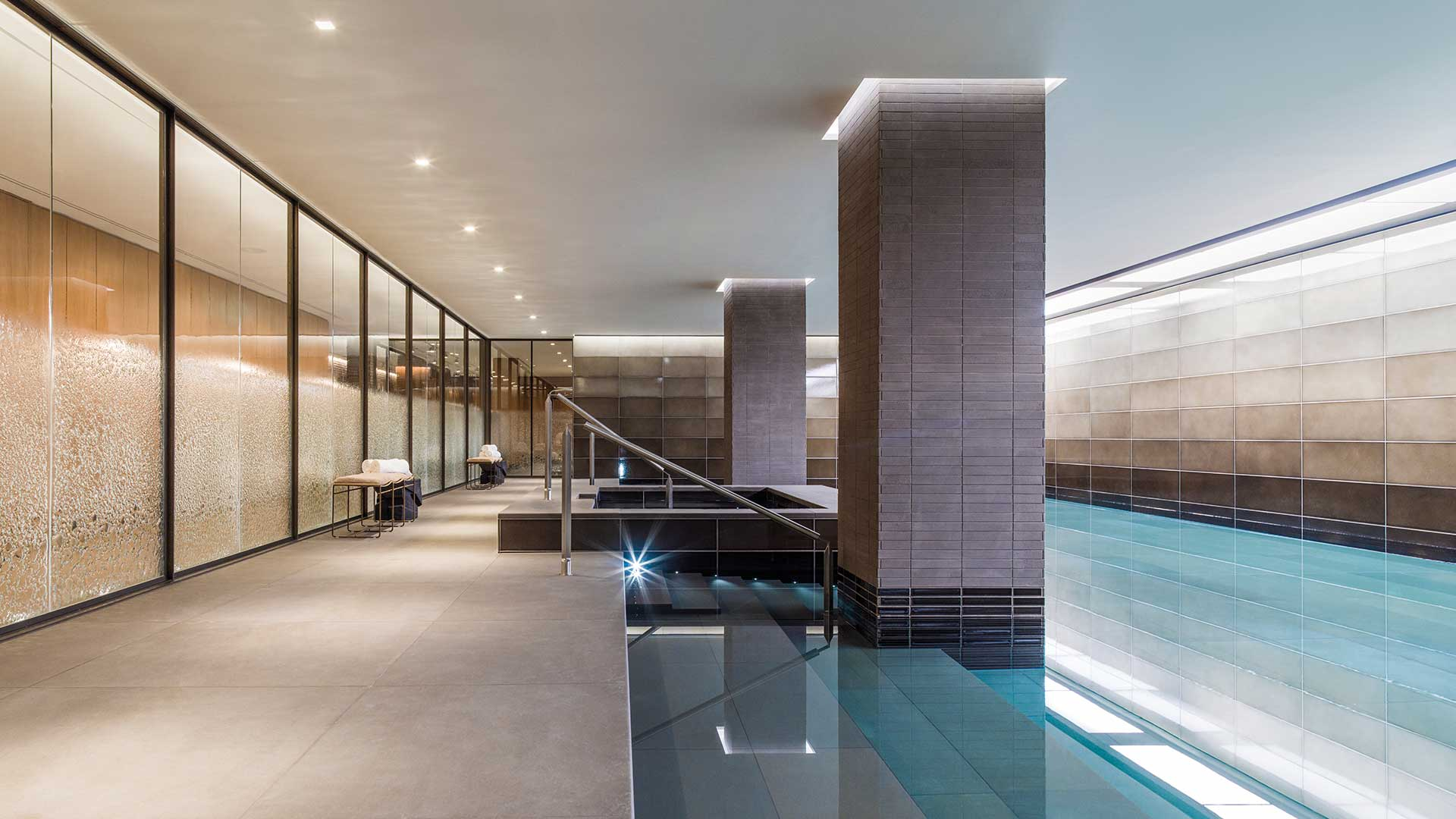 Architectural Lighting Design Swimming Pool Spa Luxury Kensington Apartments Holland Park Villas London Consultants Nulty