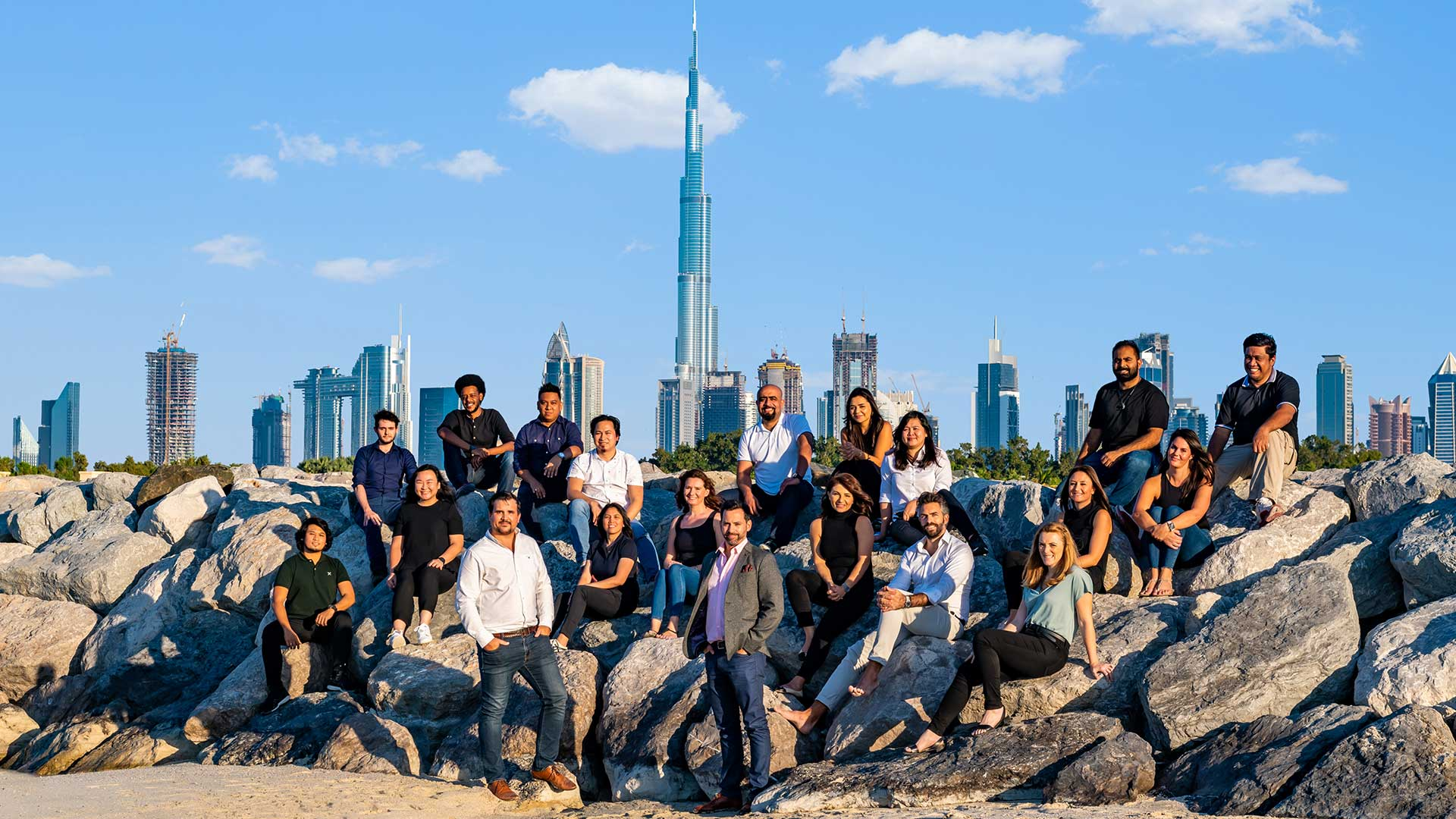 Nulty Dubai Team Architectural Lighting Designers Burj Khalifa Photo