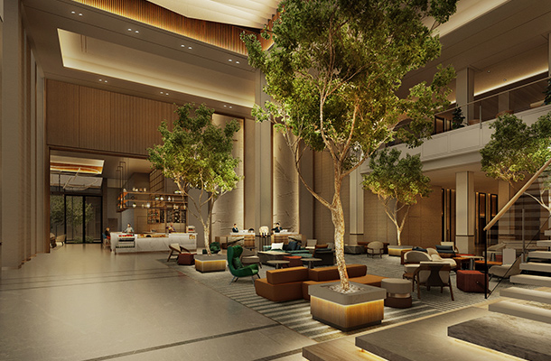 Sheraton Bahrain Hotel Lighting Design Consultants Nulty