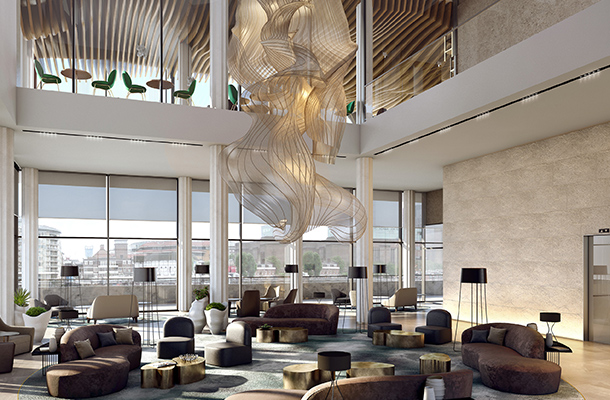 The Westin London City Hotel Lighting Design Consultants Nulty